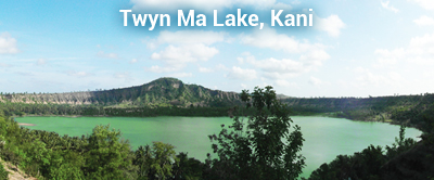 Twyn Ma Lake in Kani Townships