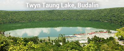 Twyn Taung Lake in Budalin Townships